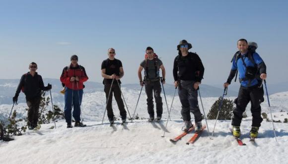 Pohod turnim skijama na Pločno